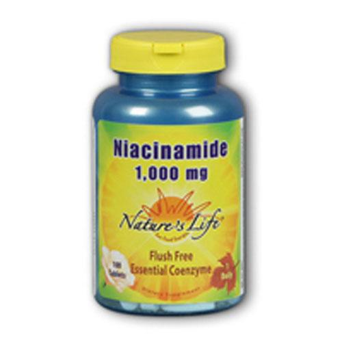 Niacinamide 100 tabs by Nature's Life