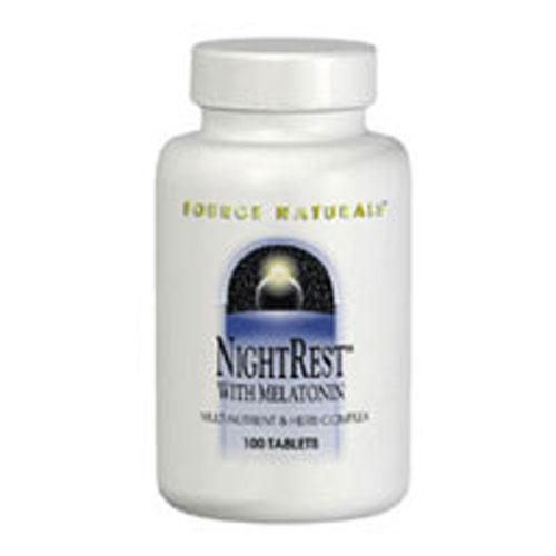 Night Rest 100 Tabs by Source Naturals
