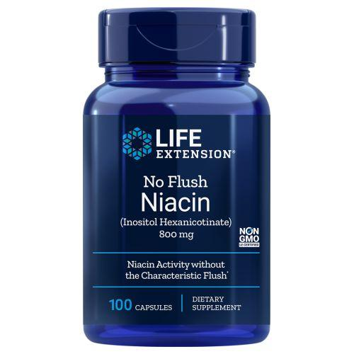 No Flush Niacin 100 caps by Life Extension