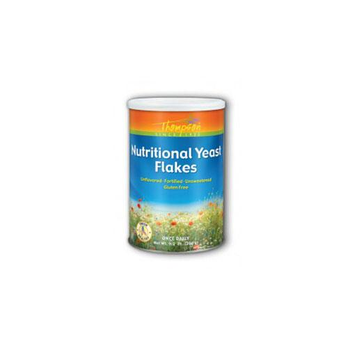 Nutritional Yeast Flakes 9.2 oz by Thompson