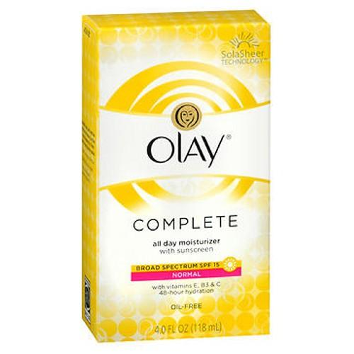 Olay Complete All Day Uv Defense Moisture Lotion 4 Oz by Olay