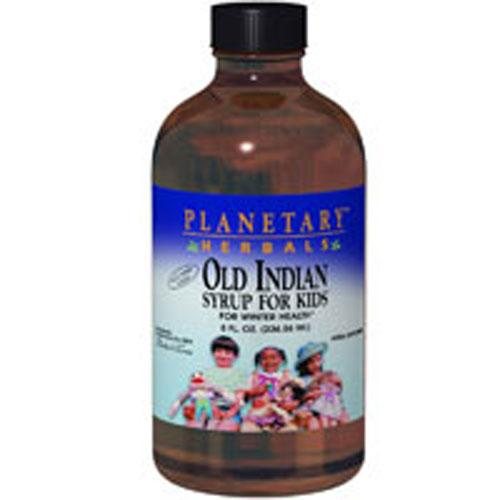 Old Indian Syrup for Kids 4 oz by Planetary Herbals