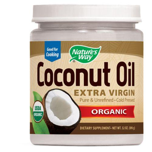 Organic Coconut Oil 32 oz by Nature's Way