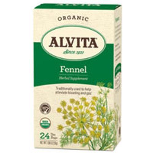 Organic Herbal Tea Fennel Seed 24 BAGS by Alvita Teas