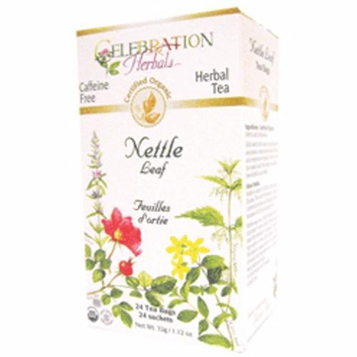 Organic Nettle Leaf Tea 24 Bags by Celebration Herbals