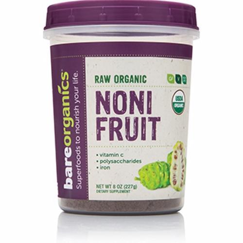 Organic Noni Fruit Powder 8 Oz by Bare Organics