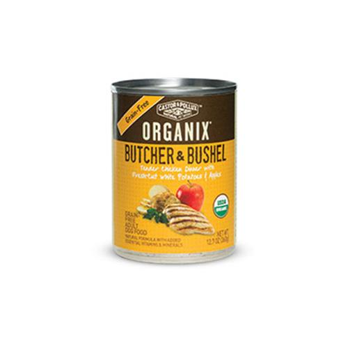 Organix Butcher & Bushel Canned Dog Chicken, White Potato & Apple 12.7 Oz(case of 12) by Castor & Pollux