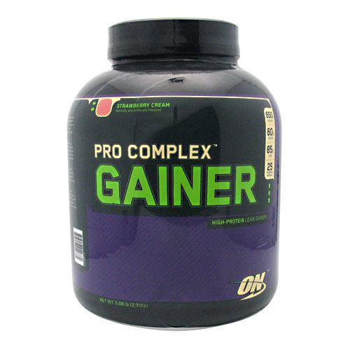 PRO COMPLEX GAINER Strawberry 5.08 Lbs by Optimum Nutrition