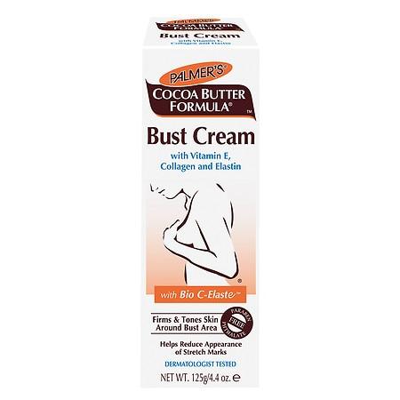 Palmer's Cocoa Butter Formula Bust Cream with Vitamin E, Collagen and Elastin - 4.4 oz