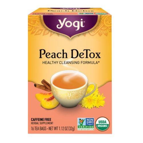 Peach DeTox 16 bags by Yogi