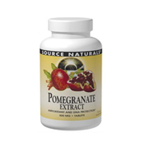 Pomegranate Extract 120 tabs by Source Naturals