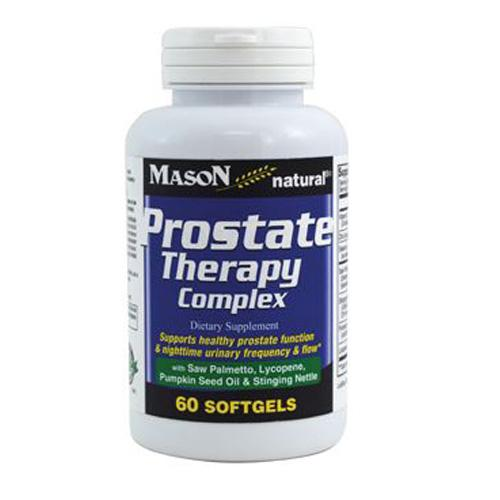 Prostate Therapy Complex 60 Softgels by Mason