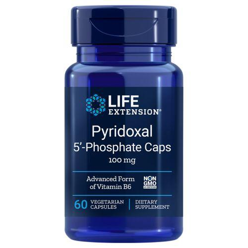 Pyridoxal 5 Phosphate Caps 60 vcaps by Life Extension