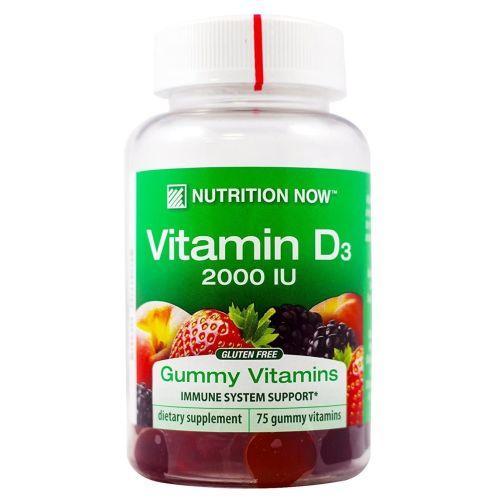 Rhino Gummy Vitamin D 75 chews by Nutrition Now