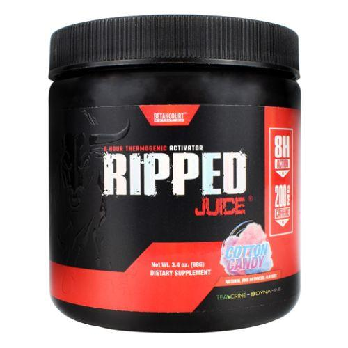 Ripped Juice Cotton Candy 3.4 Oz by Betancourt Nutrition