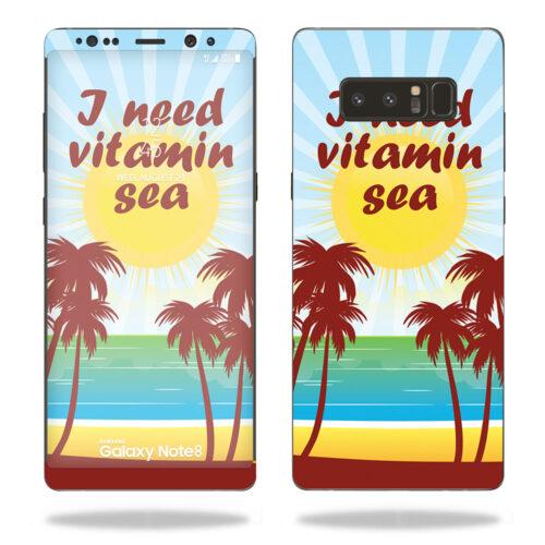 SAGNOTE8-Vitamin Sea Skin for Samsung Galaxy Note 8 - Vitamin Sea