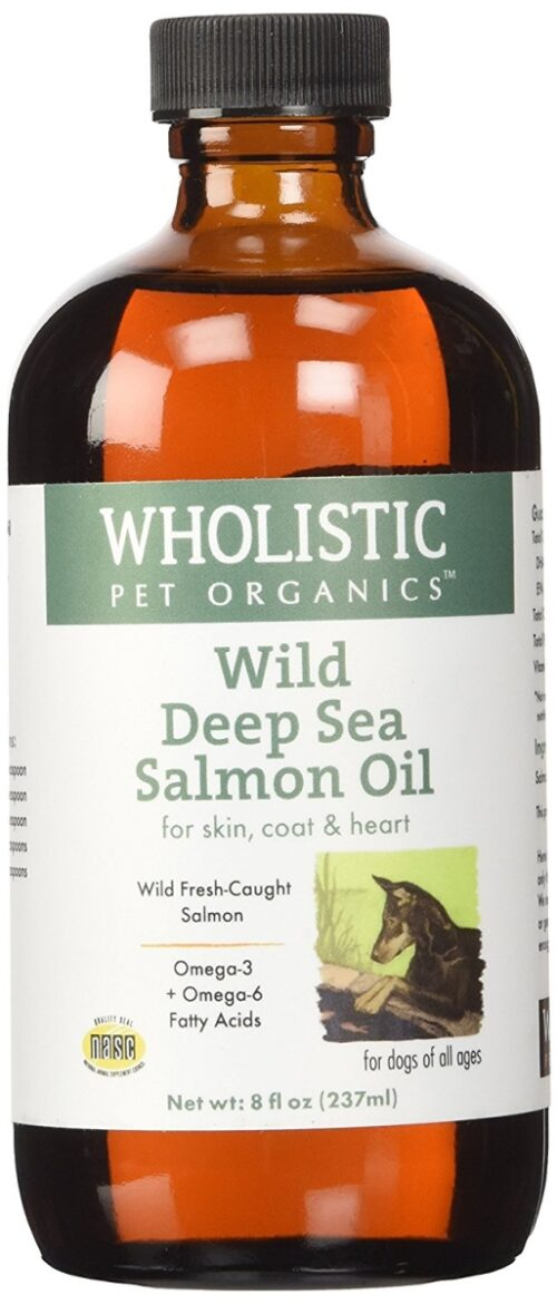 SCTWP29Glass 8 0z Wild Deep Sea Salmon Oil Glass for Dogs