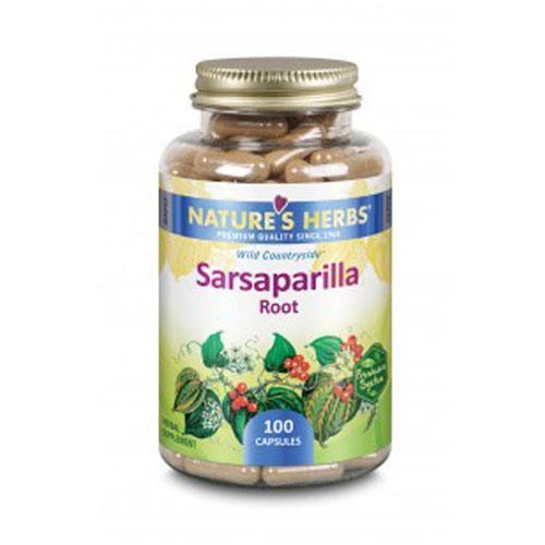 Sarsaparilla Root 100 Caps by Nature's Herbs(Zand)
