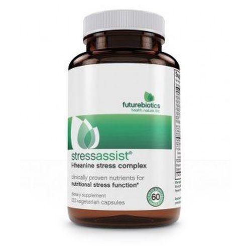 StressAssist 120 Veg Caps by Futurebiotics