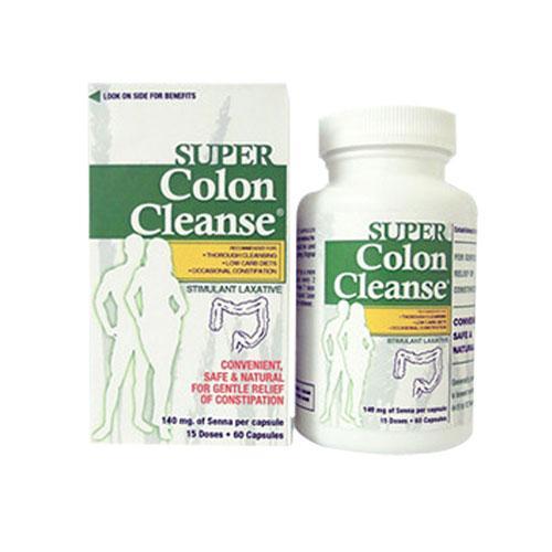 Super Colon Cleanse 60 caps by Health Plus