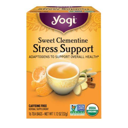 Sweet Clementine Stress Support 16 Count by Yogi