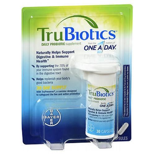 Trubiotics Daily Probiotic Supplement 30 CAP by Trubiotics