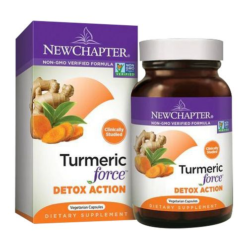 Turmeric Force Detox Action 60 Veg Caps by New Chapter