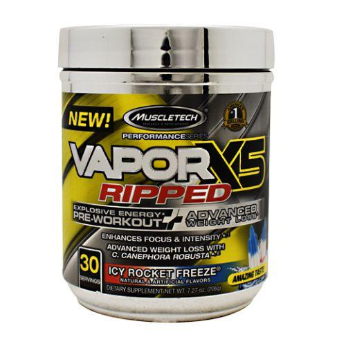 Vapor X5 Icy Rocket Freeze 30 Each by Muscletech