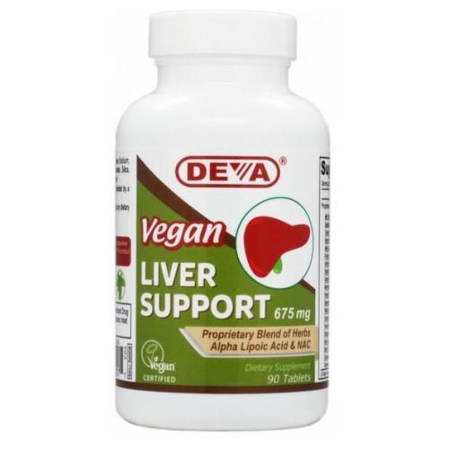 Vegan Liver Support 90 TABS by Deva Vegan Vitamins