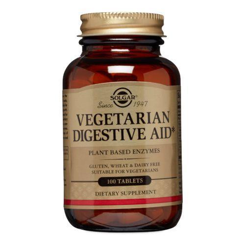 Vegetarian Digestive Aid Tablets Chewable 100 Tabs by Solgar