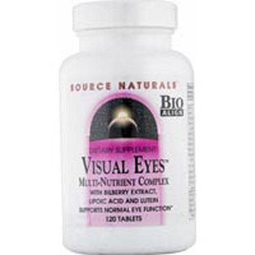 VisualEyes 60 Tabs by Source Naturals