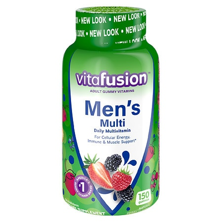 Vitafusion Men's Gummy Vitamins Berry - 150.0 ea