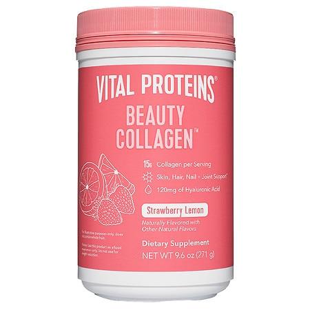 Vital Proteins Beauty Collagen Strawberry Lemon - 9.6 oz