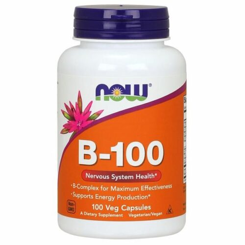 Vitamin B-100 100 Caps by Now Foods