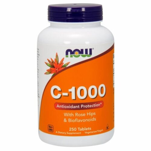 Vitamin C-1000 250 Tabs by Now Foods