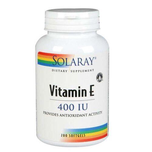Vitamin E 100 Softgels by Solaray
