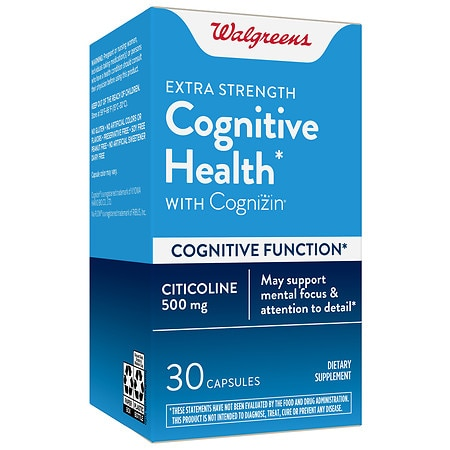 Walgreens Extra Strength Cognitive Health with Cognizin - 30.0 ea