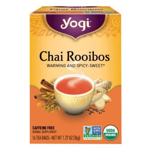 Yogi Tea- Chai Rooibos 16 Bags by Yogi