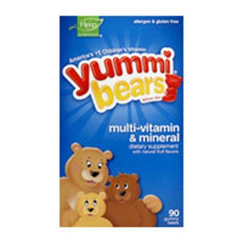 Yummi Bears Multi-Vitamin & Mineral 90 Bears by Yummi Bears (Hero Nutritional Products)