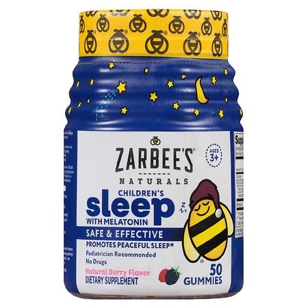 ZarBee's Naturals Child Sleep Gummies Berry - 50.0 ea