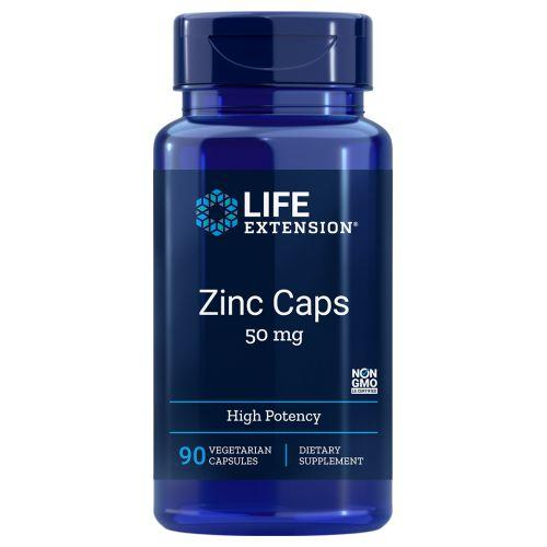 Zinc High Potency 90 Vcaps by Life Extension
