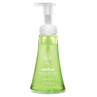 00362 Foaming Hand Wash- Green Tea Aloe Foam- 12 oz Bottle