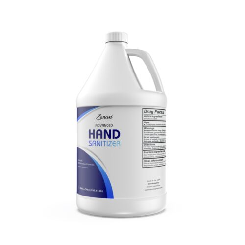 1 GALLON- COD 1674 1 gal Advanced Disinfectant Soothing Gel with Aloe & Vitamin E, Fresh Scent