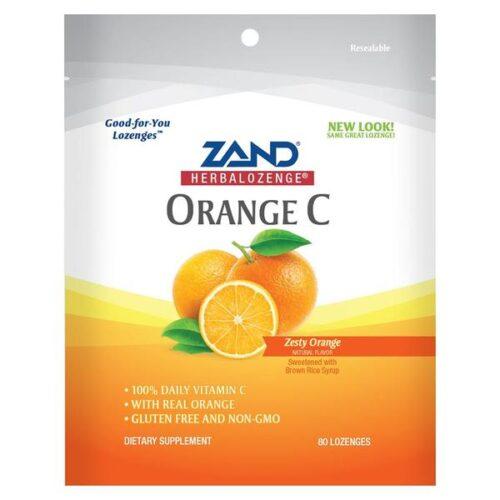 234589 60 mg Orange C Family Size Herbalozenges, 80 Count
