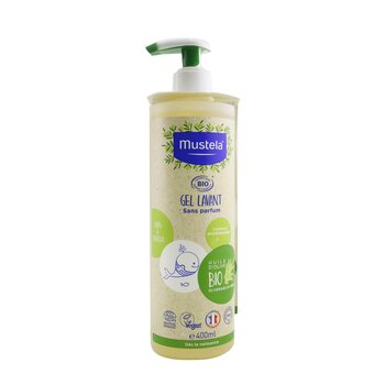 260775 400 ml Organic Cleansing Gel with Olive Oil - Fragrance Free