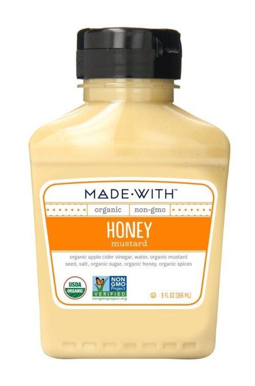 276988 9 oz Honey Organic Mustard, Pack of 6
