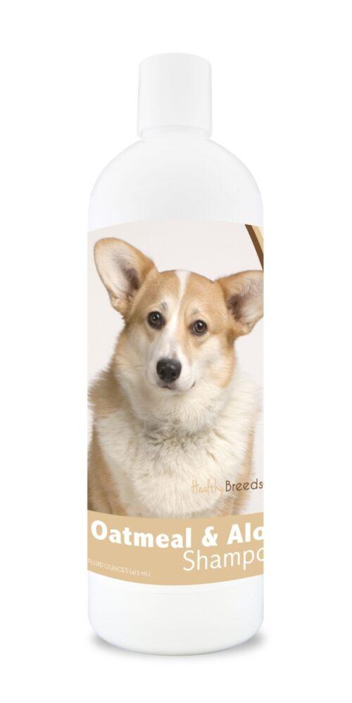 840235104544 16 oz Cardigan Welsh Corgi Oatmeal Shampoo with Aloe