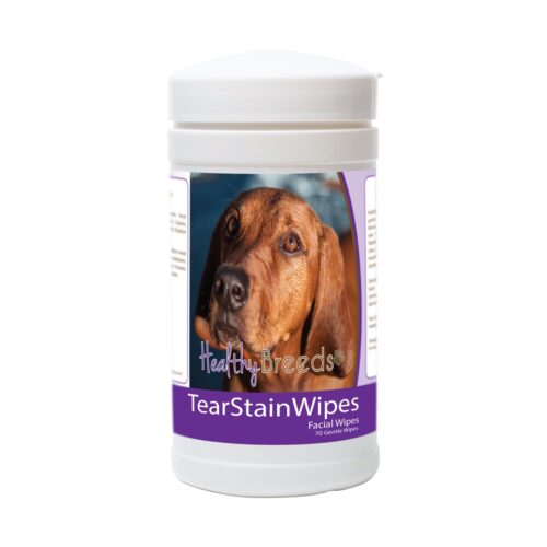 840235174271 Redbone Coonhound Tear Stain Wipes - 70 Count