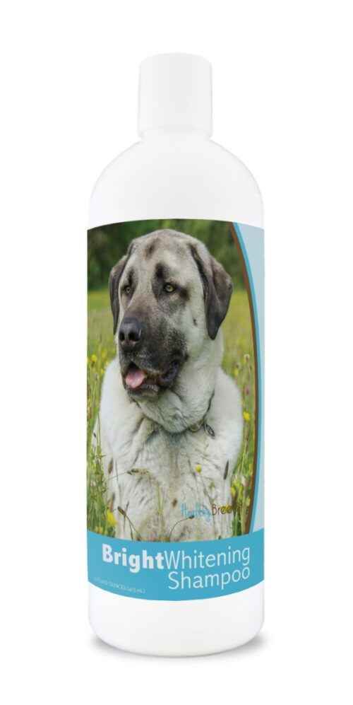 840235178507 12 oz Anatolian Shepherd Dog Bright Whitening Shampoo