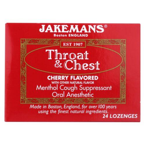 HG0650184 Throat & Chest Lozenges - Cherry - Pack of 24
